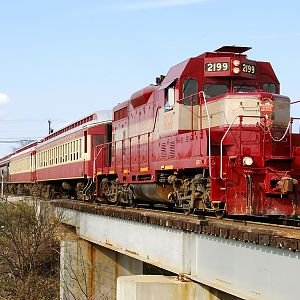 GVR 2199 Departing Fort Worth Stockyards