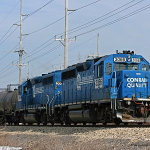 B-1-G on the controlled siding in Dowagiac, MI