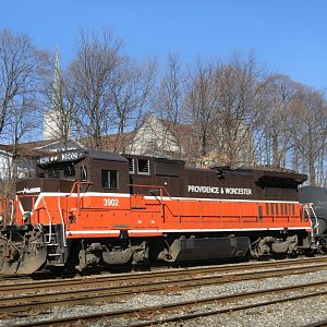 Train PR-2 at the Valley Falls Yard