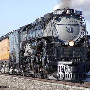 In Your Face - Union Pacific #3985