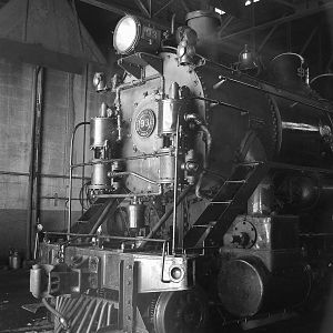 Front End of #93 Alco 2-8-0