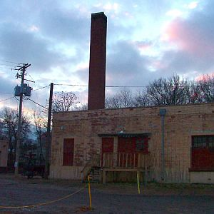 174600 - rear of old Frisco Station, Fayetteville, Arkansas