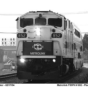Metrolink 852 - a face so few love