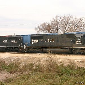 IC 6010 - SD40 - M.J. Scanlon