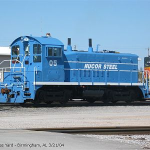Nucor Steel Switcher @ Thomas Yard