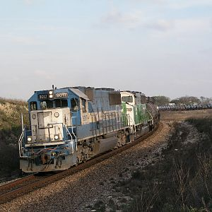 BNSF Sulphur Train