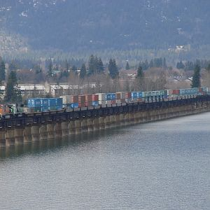 Crossing Lake Pend Oreille #2