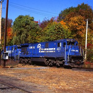 Conrail in the Berkshire Hills Conn.