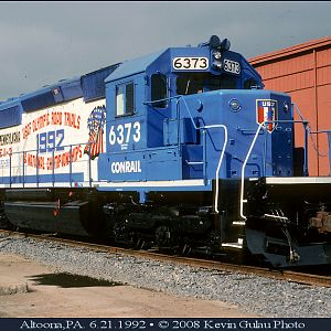 Conrail SD40-2 in special paint scheme