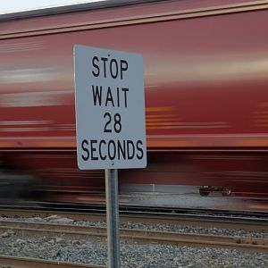 Stop - Wait 28 Seconds!