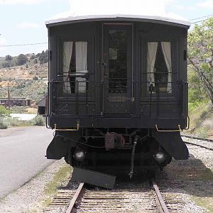 Virginia and Truckee Passenger Car
