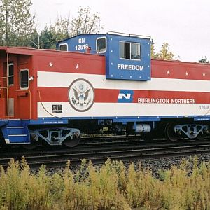Freedom Caboose