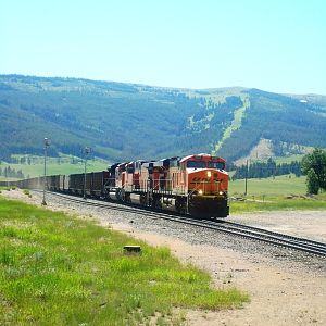 East-bound coal empties at Blossberg