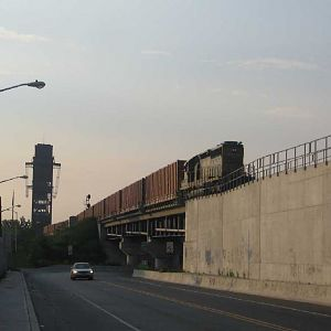 Garbage train crosses to New Jersey