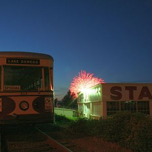 Take the Trolley to the Fireworks