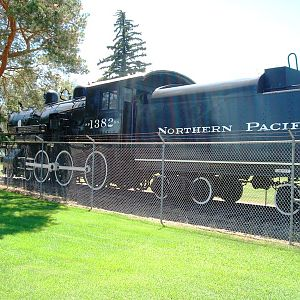 Northern Pacific #1382 (fireman's side)