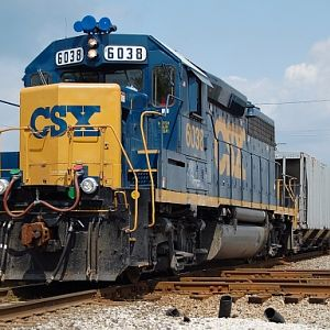 CSXT J781 at Mitchell,IN