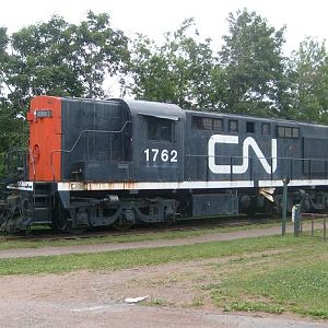 Canadian National RSC-18 number 1762