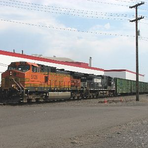 BNSF Barstow-Vancouver
