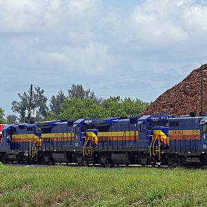 A shot from Palm Ave. Seminole Gulf RR, FT. Myers, FL