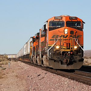 BNSF on the Needles Sub.
