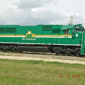 Hudson Bay Railroad New SD50