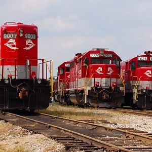 RJCC Locomotives wait their next duty!