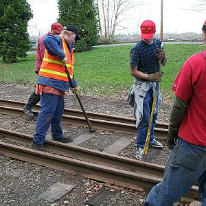 Trackwork - The Old Fashioned Way