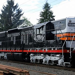 """Black Widow"" Portland & Western 5399"