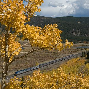 Rocky Mountain Autumn California Zephyr Style