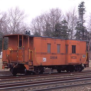 Amtrak Caboose