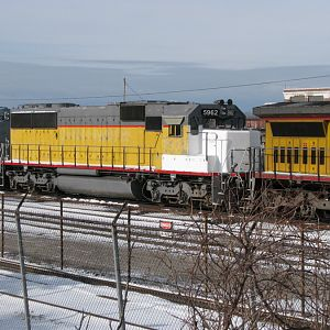 Former Union Pacific Number 5962