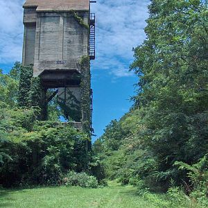 Union Springs CofGa Coaling Tower