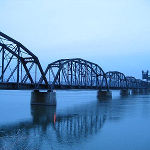 BNSF bridge at Pasco WA