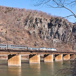 Leaving Harpers Ferry for the District