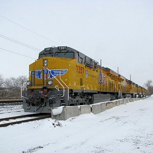 New UP GE Locomotives