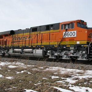 New BNSF ES44C4 A1A Locomotives.