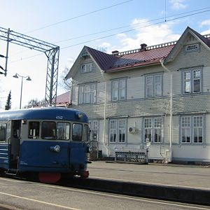Special Dm7 #4142, Kajaani railway station