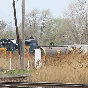CSX switching on Illinois Central CN, Dolton, IL