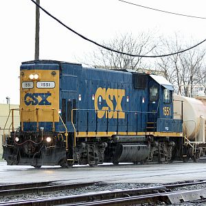 CSX GP15-T local west on CST at Doltron, IL