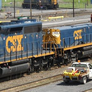 CSX at Selkirk