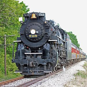 Nickel Plate Road #765 (From a Dream to Steam 2009)