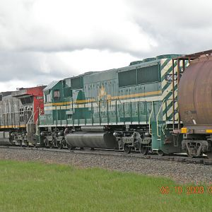 Hudson Bay Railroad New Unit