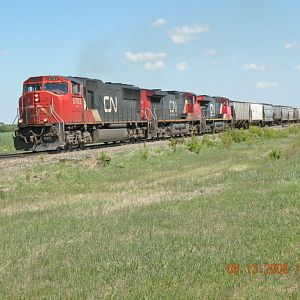 CN Three Unit Train