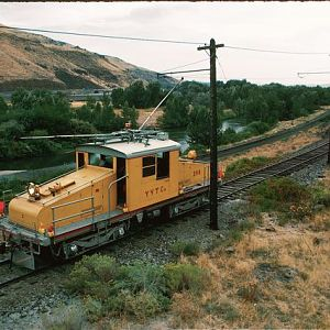 Yakima Valley Railroad in operation