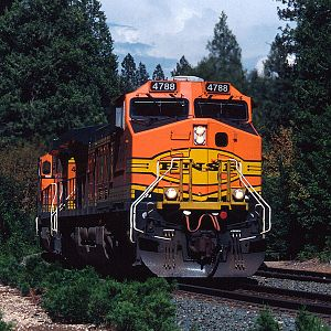 BNSF at Gold Run