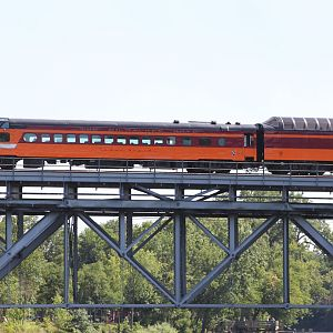 The Milwaukee Road Hiawatha on the SP 4449