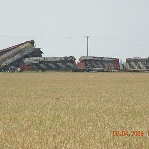 CN Derailment at Carberry, MB.