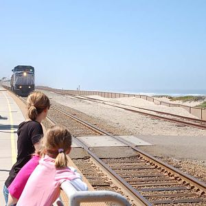 Northbound Surfliner
