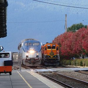 Headed North On The BNSF Bellingham Sub